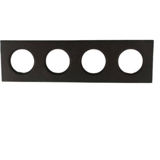 Ramka do włącznika światła ANTICA retro brązowa 4