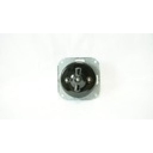 Ramka do włącznika światła ANTICA retro brązowa 3