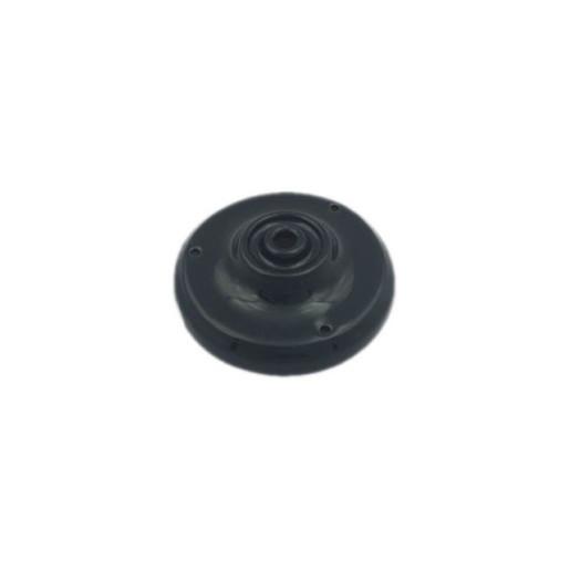 Podsufitka porcelanowa gładka czarna