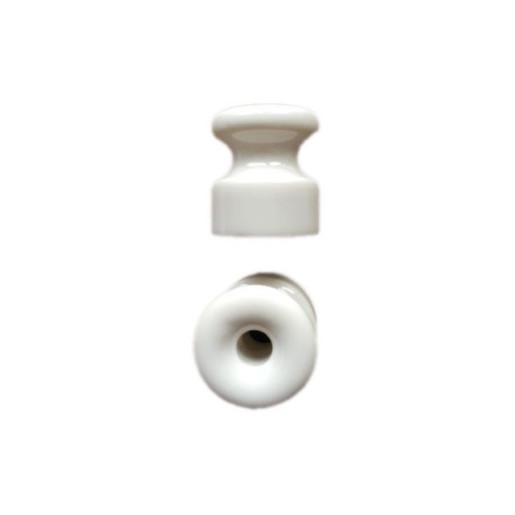 Izolator biały do mocowania kabli w oplocie ANTICA, TW06 biały