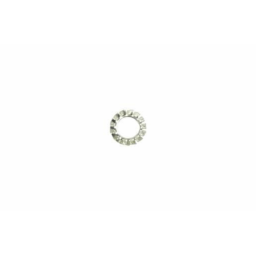 Podkładka sprężysta ząbkowana 18X3 Cynk