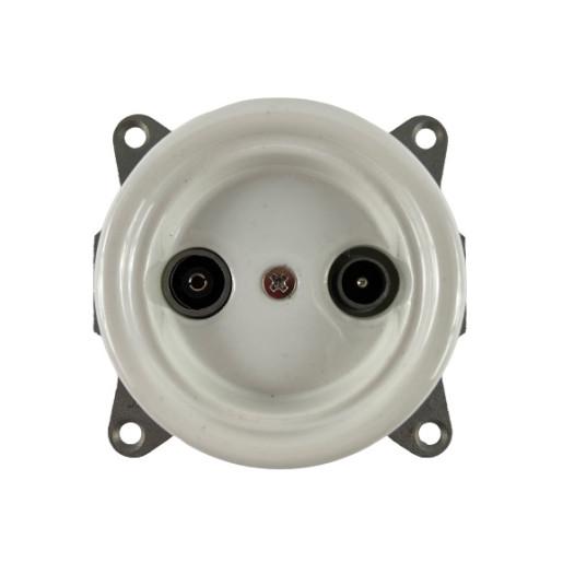 Białe gniazdo podtynkowe ANTICA TV+R ceramika, TT-06/TV+R biały