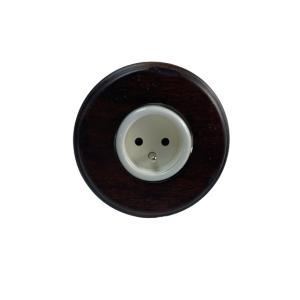 Porcelanowe gniazdo podtynkowe french,okrągłe GI_GAMBARELLI