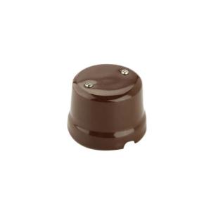 Puszka natynkowa łączeniowa retro  brązowa 9005/MA