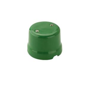 Puszka natynkowa łączeniowa retro ZIELONA 9005/VE