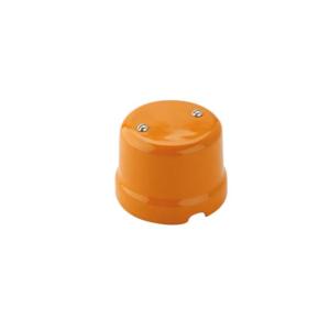 Puszka natynkowa łączeniowa retro POMARAŃCZOWA 9005/AR