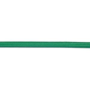 Kabel w oplocie okrągły zielony 2x0,75