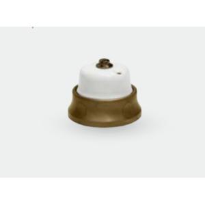 Porcelanowy włącznik natynkowy dzwonkowy FUSION GiGambarelli, 31.130.51