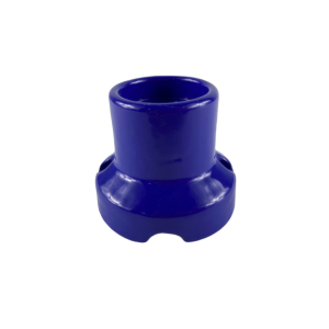 KINKIET PORCELANA niebieski FAI 0071 OPRAWKA E27 PRL
