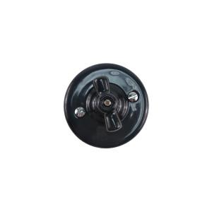Włącznik światła retro świecznikowy ANTICA CZARNA,T-01B czarny