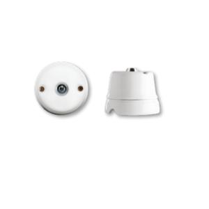 Porcelanowy włącznik natynkowy z kluczem , GiGambarelli 00109