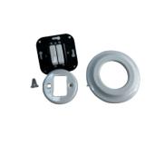 ANTICA NEW podwójny włącznik biały podtynkowy K1- R210Q WHITE