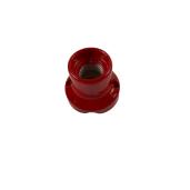 Kinkiet Oprawka porcelanowa CZERWONA  E27 0068/RSS