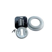 ANTICA NEW schodowy włącznik biały podtynkowy K1- R120Q WHITE