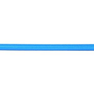 Kabel w oplocie okrągły niebieski 2x0,75