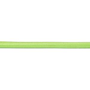 Kabel w oplocie okrągły jaskrawa zieleń 2x0,75
