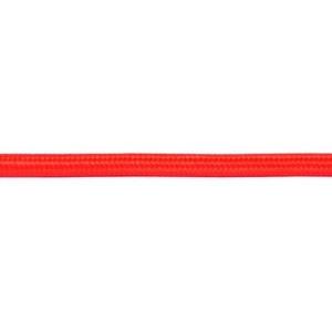 Kabel w oplocie okrągły czerwony 3x0,75