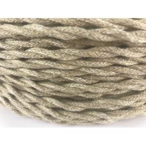 Kabel w oplocie skręcanym natura 3x,1,5mm