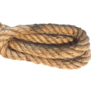Kabel w oplocie skręcanym lina konopna 25mm